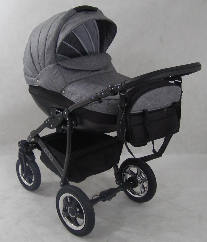luxus kombi kinderwagen retro 3in1 babyschale autositz. Black Bedroom Furniture Sets. Home Design Ideas