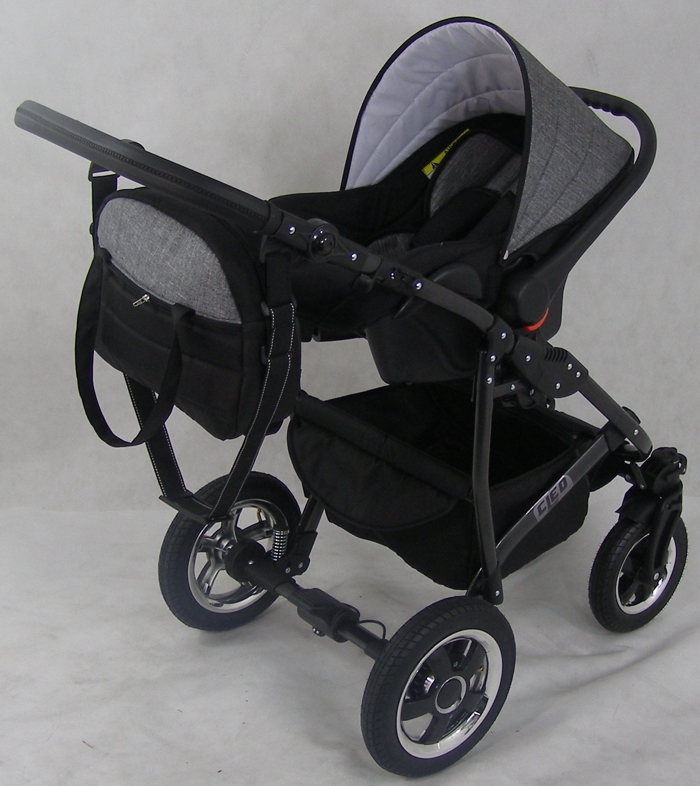 kombi kinderwagen retro style 3in1 babyschale autositz. Black Bedroom Furniture Sets. Home Design Ideas