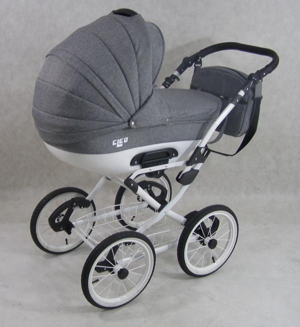 kombi kinderwagen cleo retro 3in1 babyschale autositz babywanne sportsitz neu ebay. Black Bedroom Furniture Sets. Home Design Ideas
