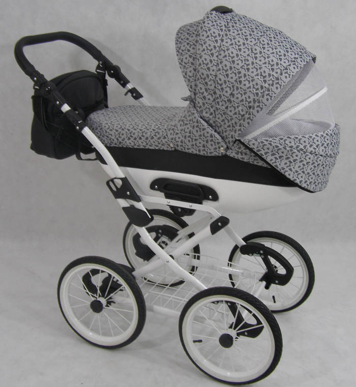 kombi kinderwagen cleo retro 3in1 babyschale autositz. Black Bedroom Furniture Sets. Home Design Ideas